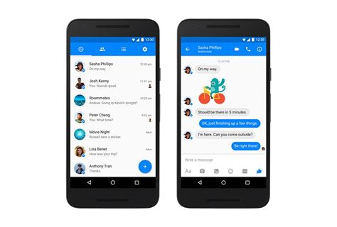 Facebook Messenger tem um novo design