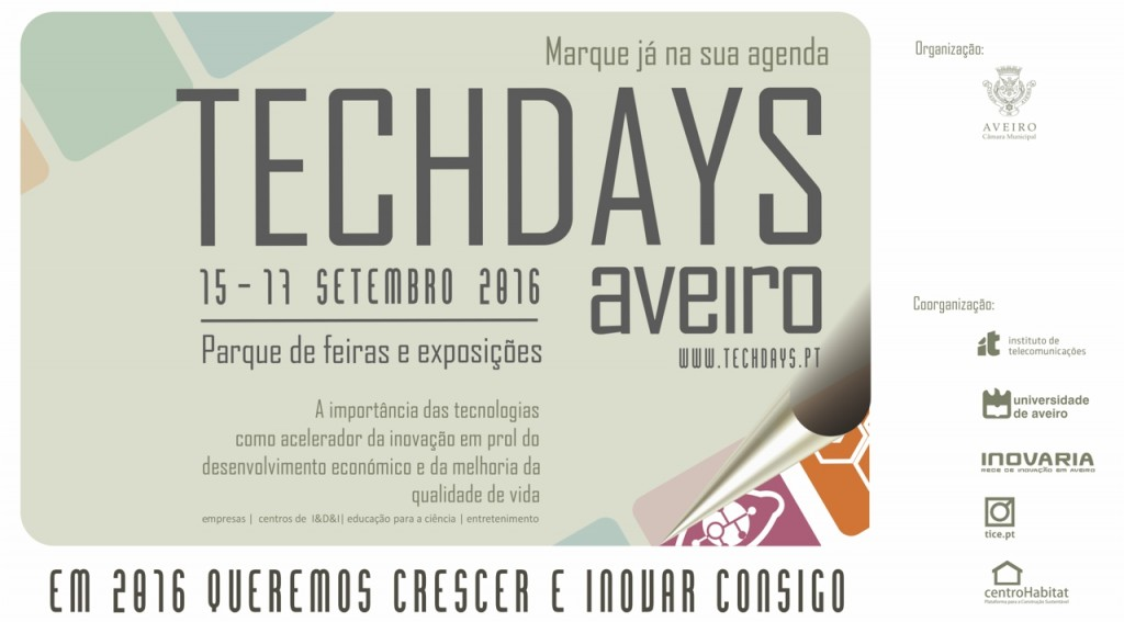 TECHDAYS: 3 dias intensos sobre tecnologia e inovação