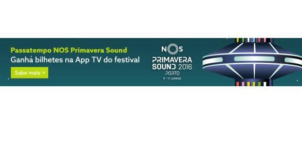NOS Primavera Sound: NOS lança app para a TV