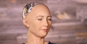Entrevista de Sophia, um robot com alma!