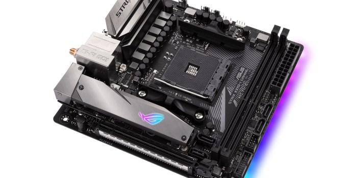 motherboards de gaming ASUS ROG Strix X370-I