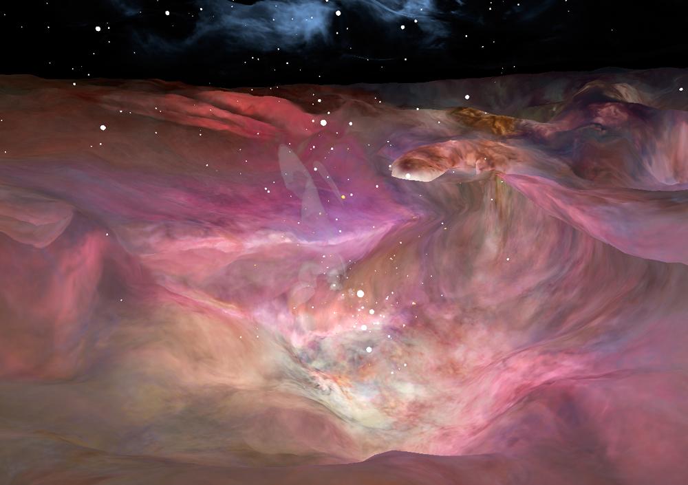 NASA divulga nebulosa Orion em 3D