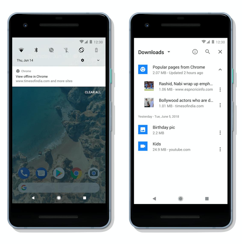 Chrome para Android vai fazer download de artigos para ler offline