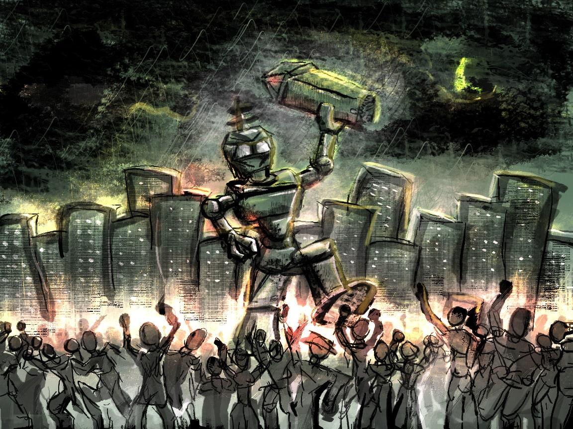 Acordo contra Robots Assassinos. Sim, é verdade!