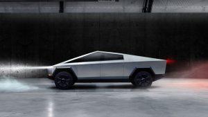 """Cybertruck da Tesla: uma """"pick-up"""" com gráficos horriveis"""