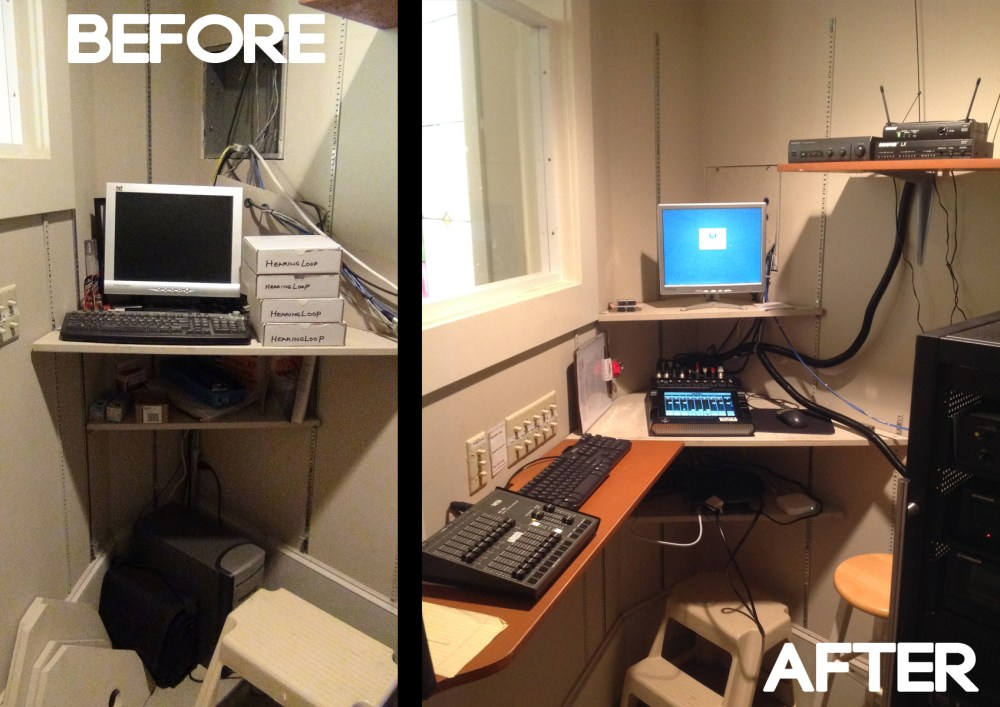 Control Booth_before after