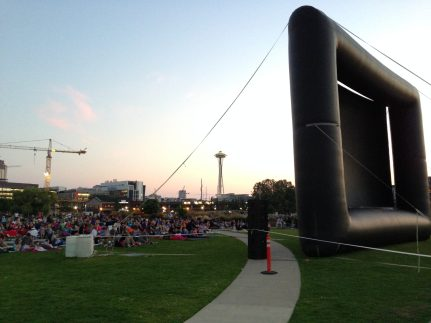 In Partnership with Epic Events, we produced a number of movie nights across the Northwest.