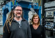 After an intensive period of analyses the research team was able to establish that they had probably succeeded in creating a topological superconductor, exciting new technology for quantum computing. Credit: Johan Bodell/Chalmers