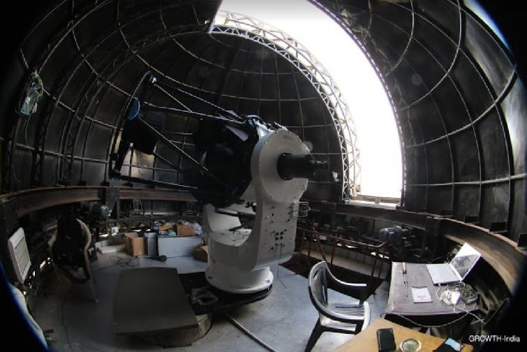 India's first robotic telescope opens its eyes to the universe