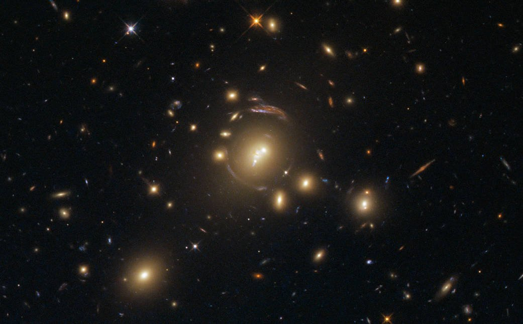 Hubble reveals a Cosmic distortion