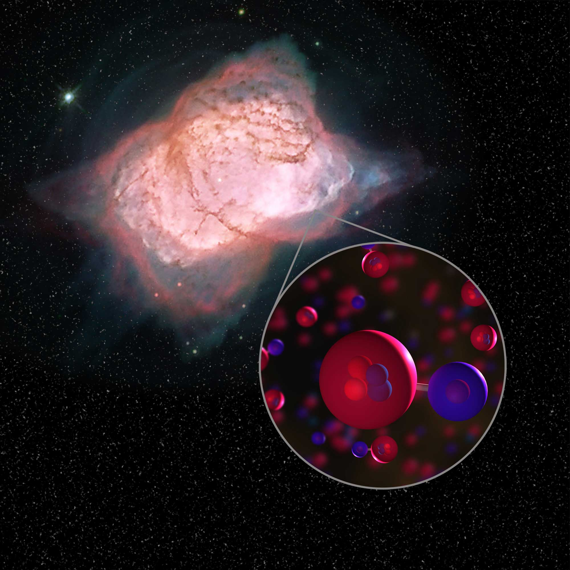 The universe's first type of molecule is found at last