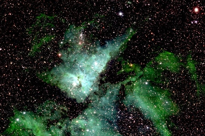 The team at the Cluster of Excellence Resolv has investigated chemistry in interstellar space. © RUB, Lehrstuhl für Astrophysik