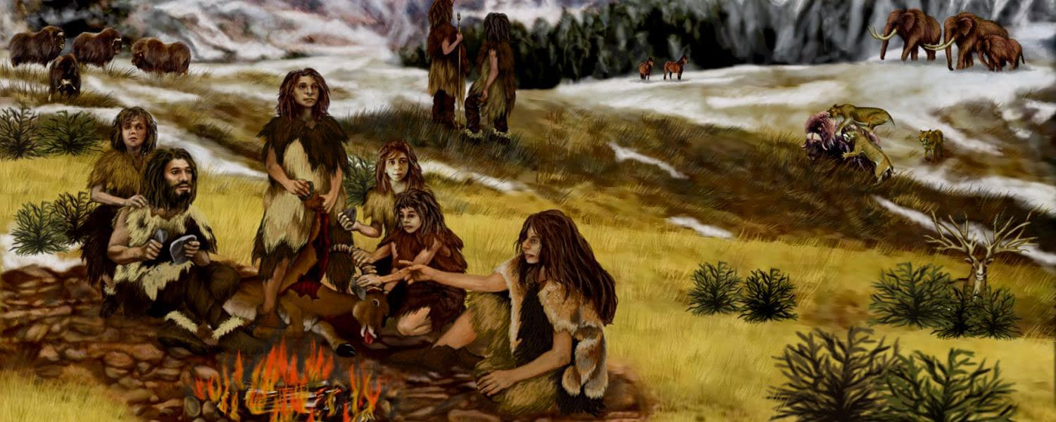 Neanderthals used resin glue to craft their stone tools