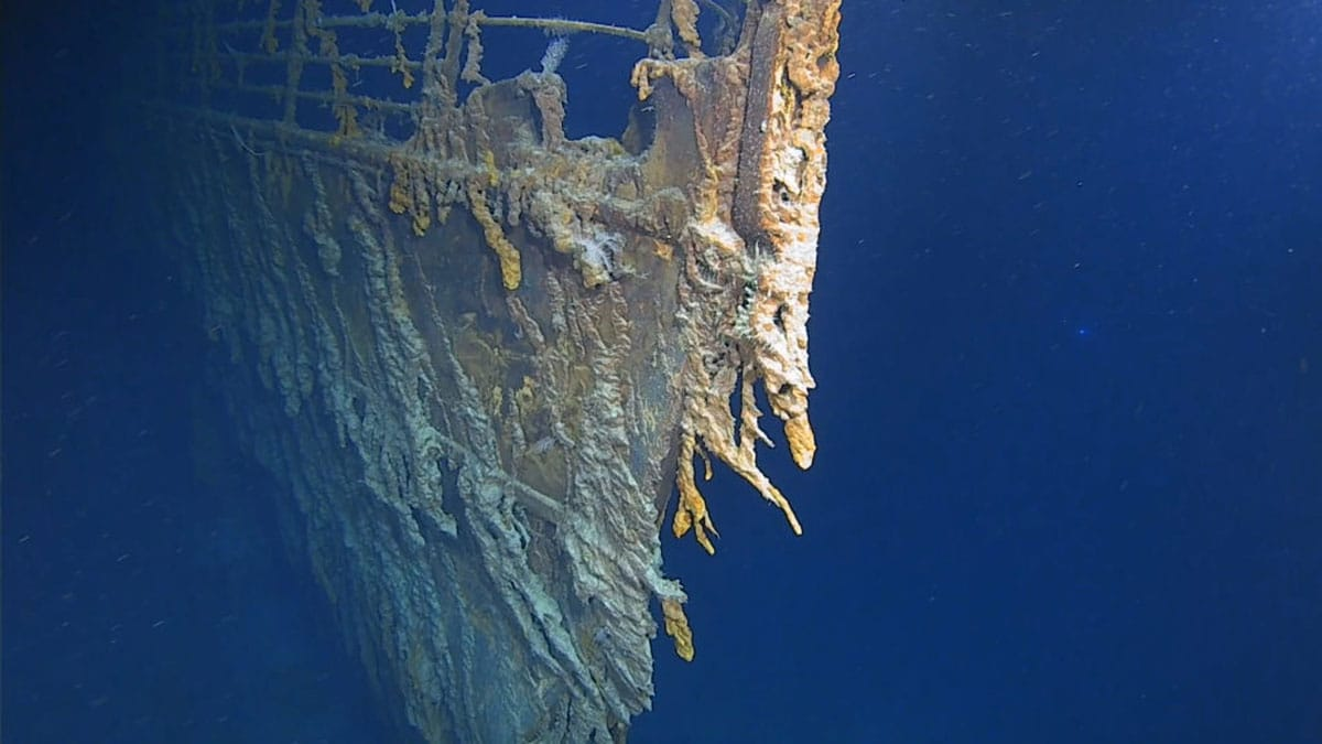 New RMS Titanic images show the state of wreck's shocking deterioration
