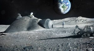 Astronaut's urine can be used to build moon bases