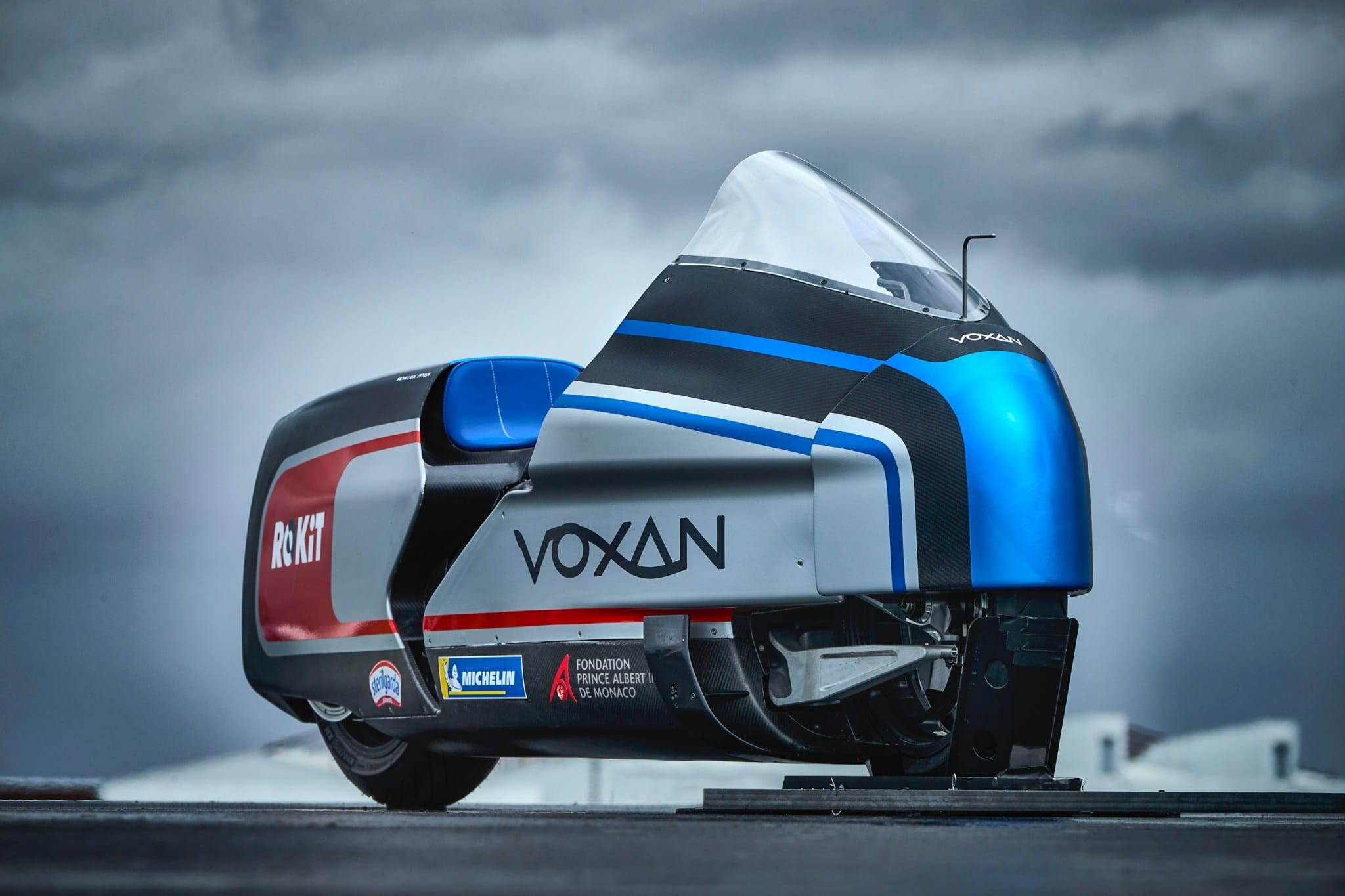 Voxan Wattman, an electric motorcycle that aspires to be the fastest in the world