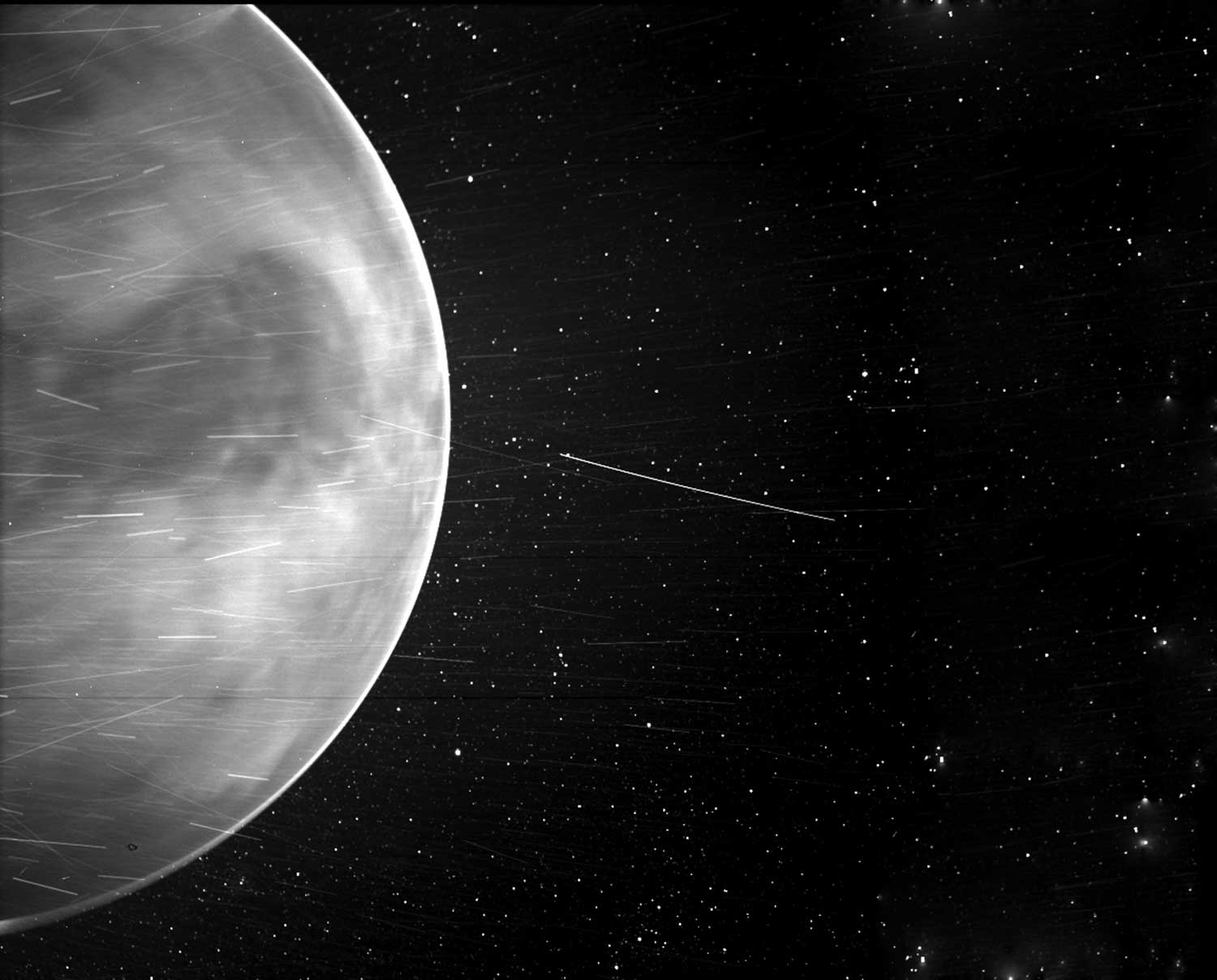 NASA's Parker solar probe captured a stunning view of Venus