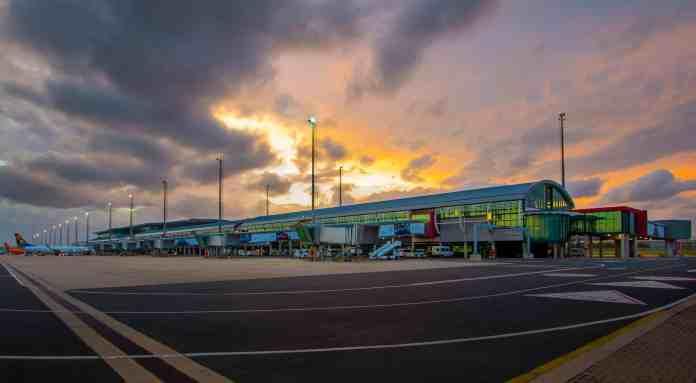 King Shaka International Airport.