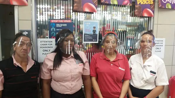 Shoprite Faceshields