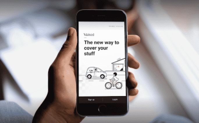Naked Insurance app