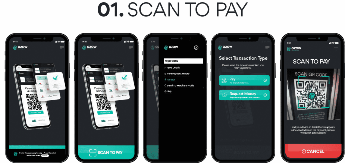 scan to pay - Ozaap