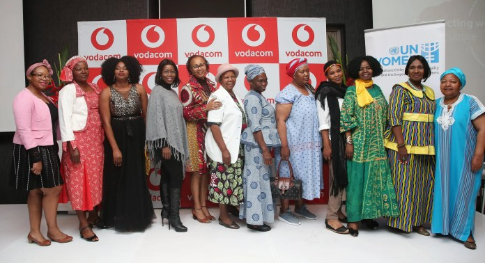 Group of women who are part of the South African Women In Farming and guest speakers from the launch event in August 2019