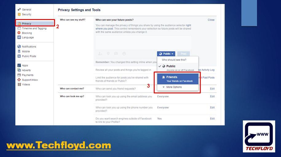 How to Restrict Sharing Content with Public on Facebook_02