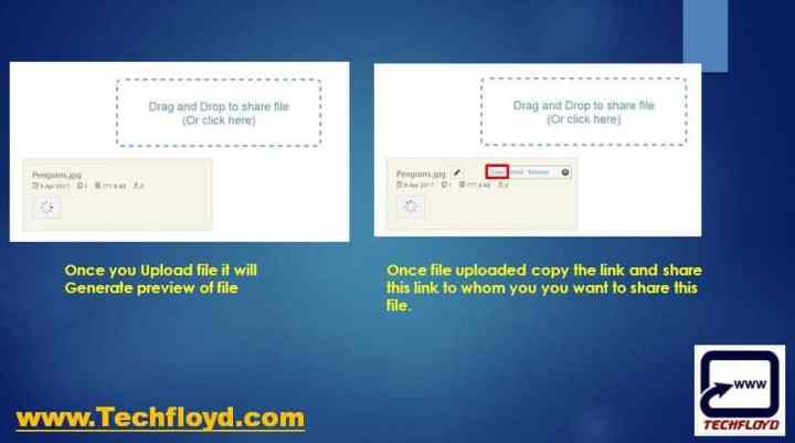 How to Quickly Send a File to Someone, They can Even Preview it Before Downloading