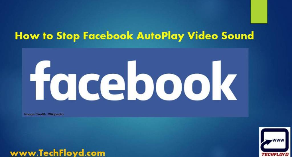 How to Stop Facebook Auto Play Video Sound