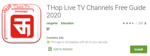 Download Thop TV for PC (1)
