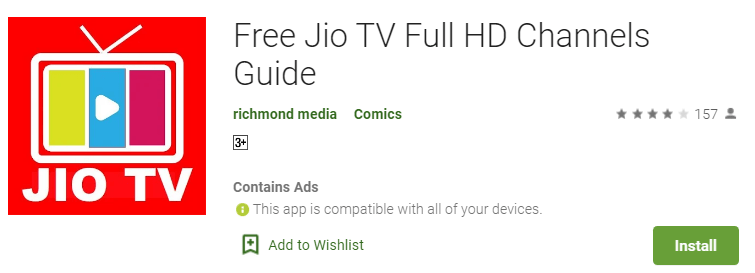 Download jio tv for pc 1
