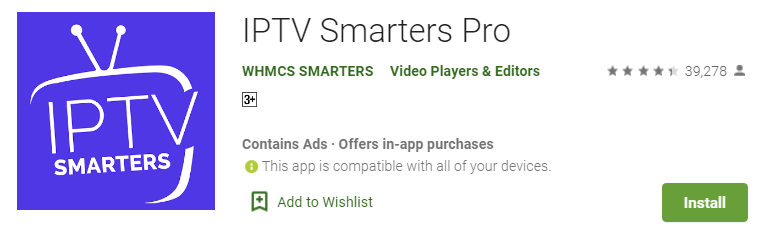 IPTV smarters pro for PC 2