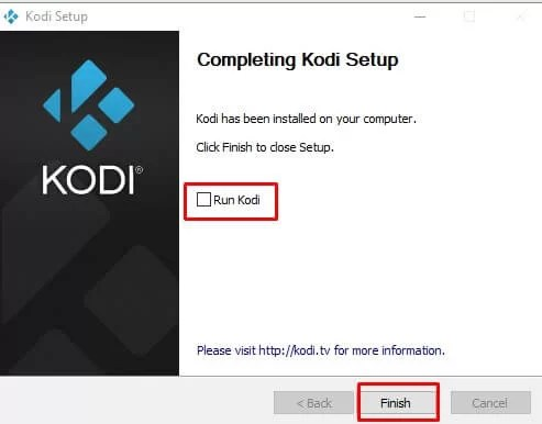 Install Kodi on Windows