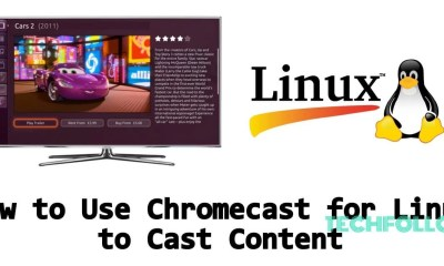 Chromecast for Linux