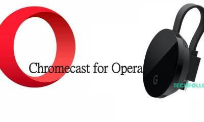 Chromecast for Opera
