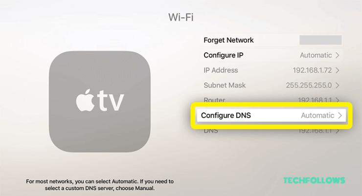 VPN on Apple TV