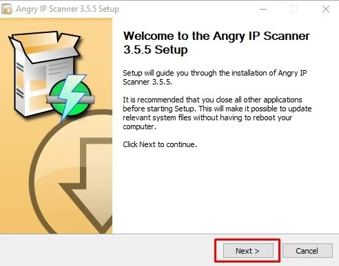 Angry IP Scanner