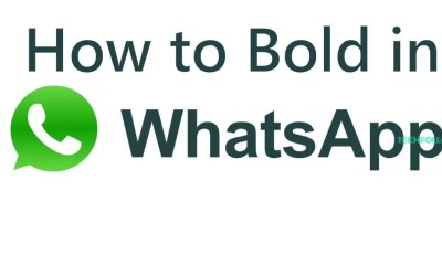 How to Bold in Whatsapp