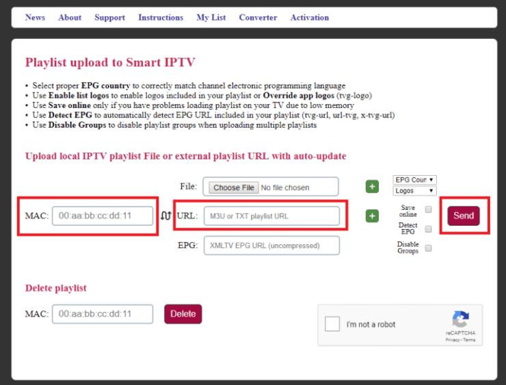 IPTV on LG Smart TV