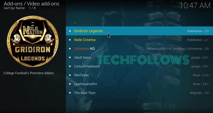 Select GridIron Legends