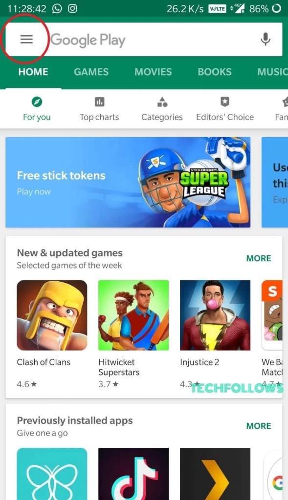 How to Change Account in Google Play Store