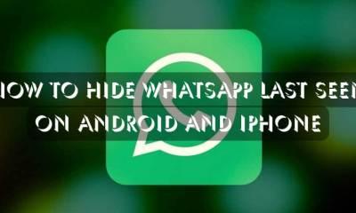 How to Hide Whatsapp Last Seen