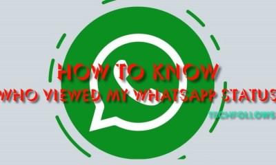 Who Viewed My Whatsapp Status