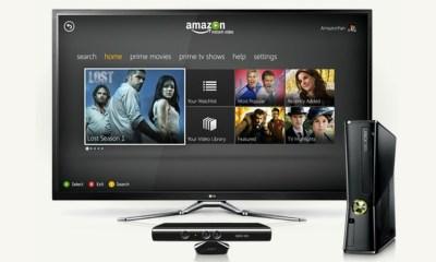 Amazon Prime on Xbox 360