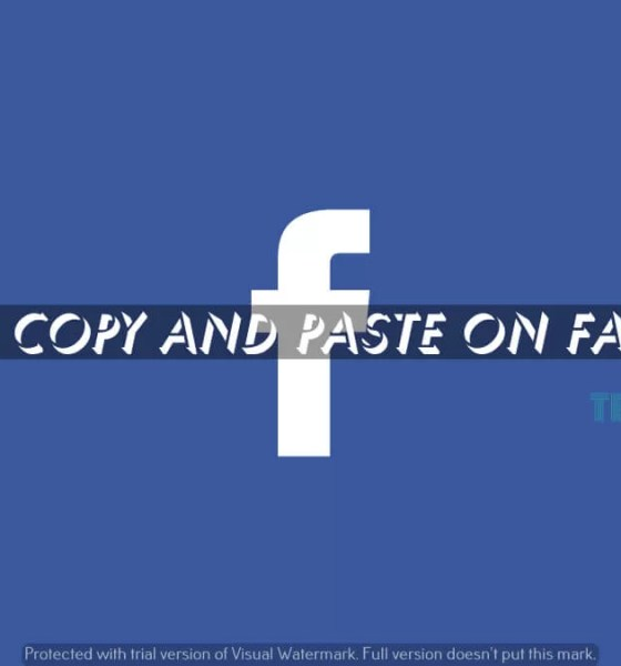 How to Copy and Paste on Facebook (1)
