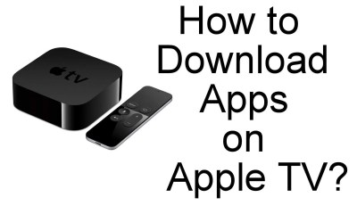 Download Apps on Apple TV