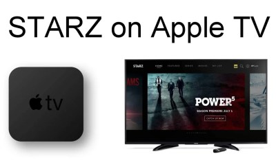 STARZ on Apple TV