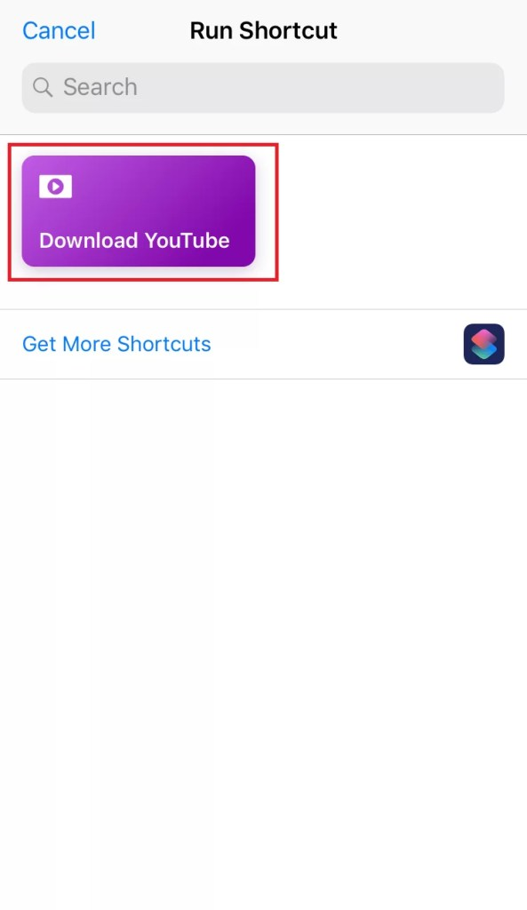 Click Download YouTube