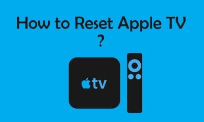 Reset Apple TV