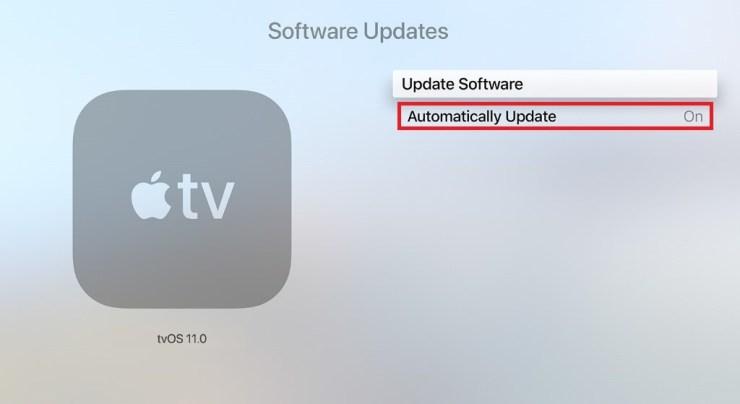 Auto update -> Turn On